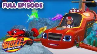 Blaze and the Monster Machines 🚗🔥 FULL EPISODE: Sea Grand Prix
