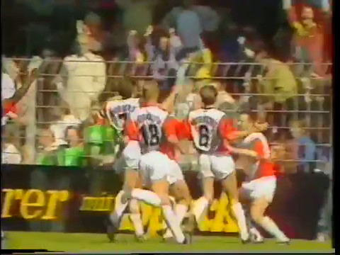 SG WATTENSCHEID 09 gg. FC Bayern München 01.06.1991 Highlights