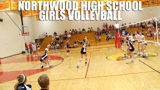 Northwood High School Volleyball Girls Highlights by Alex Iseri
