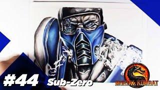 AG #44 - Sub-Zero (Lapis de Cor) Speed draw