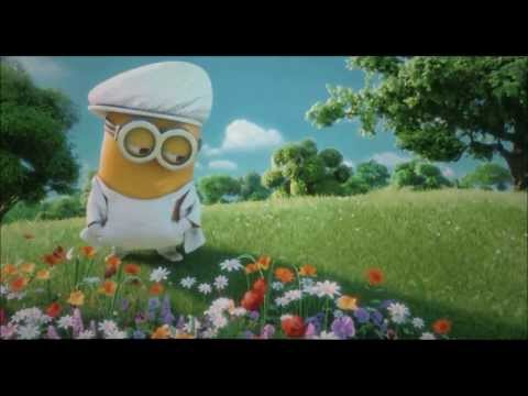 Minions sing I Swear and YMCA - Despicable Me2 (Gru and Lucy Wedding Day)