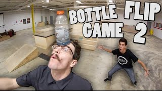 INSANE Game of BOTTLE FLIP! | ROUND 2