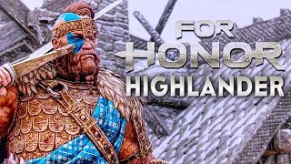 FOR HONOR Highlander Gameplay Season 3 [1080p HD 60FPS PC MAX SETTINGS] NEW MAPS - No Commentary