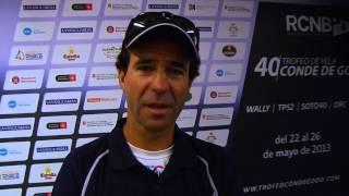 Iñaki Castañer felicita al Trofeo de Vela Conde de Godó por su aniversario