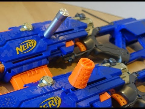 Nerf Mod: Remove & replace priming bolts - YouTube