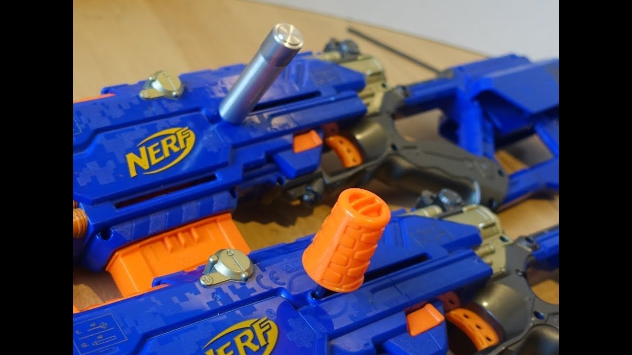 Nerf Mod: Remove & replace priming bolts