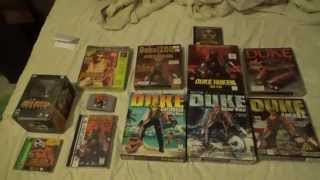 My Duke Nukem collection - as of 09/02/15