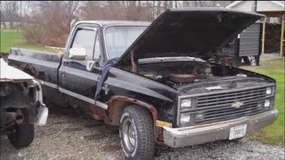 1983 Silverado REFUSES TO DIE Classic G-Body Garage