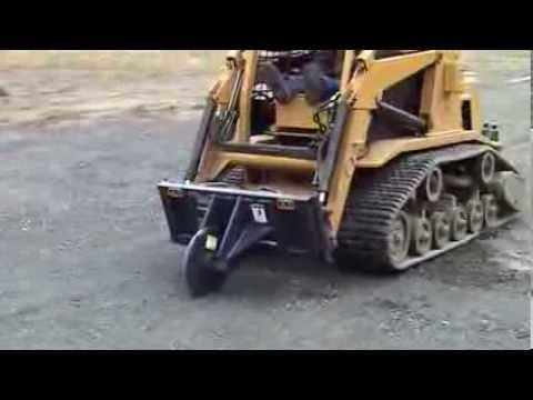 Schmidt Construction cutting longitudinal Joint with Wheel ... |Pavement Cutter
