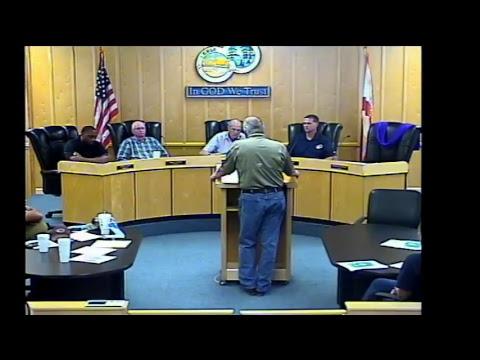 Gulf County Emergency Meeting 9/9/17 6PM