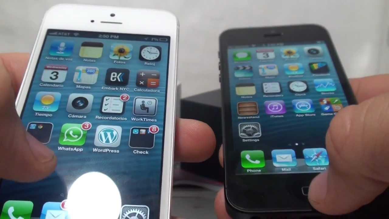 Iphone  Negro Precio