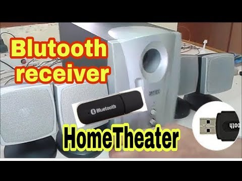 [Bluetooth Receiver] How to make wireless home theatre system