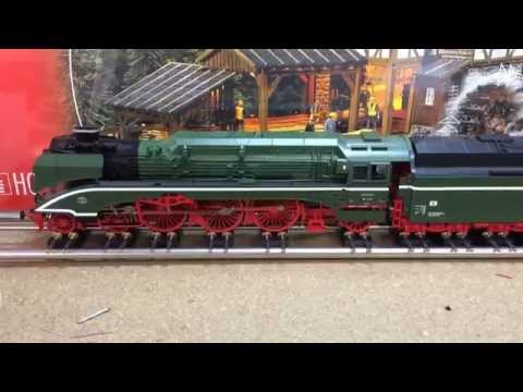 Roco 63217 DBAG BR18 201 Steam Locomotive fitted with Zimo sound decoder Mx645r