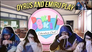 Just a normal game of Doki Doki Literature Club with Dyrus and Emiru