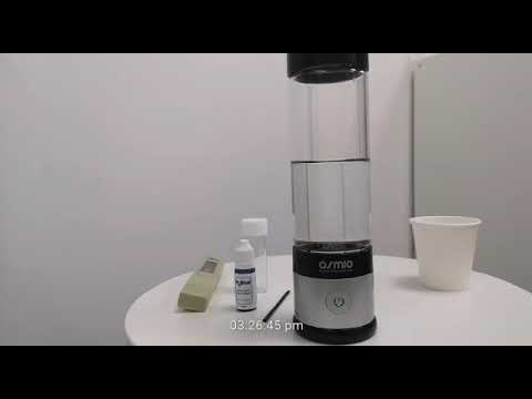 Testing The Osmio Duo Hydrogen Water Bottle