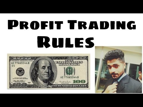 Profit Trading Rules to be a Smart Trader in Stock market (Tricks and advise)