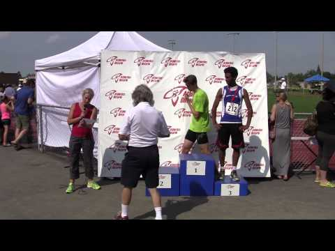 AO Outdoor Championships 2015 - Youth Boys 400m Medals
