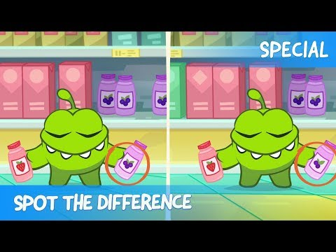 Thumbnail: Spot the Difference Ep. 29 - Om Nom Stories: Shopping
