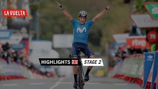 Highlights - Stage 2 | La Vuelta 20