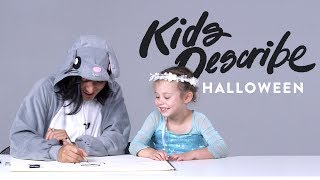 Kids Describe Halloween to Koji the Illustrator   Kids Describe   HiHo Kids