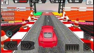 Mega Car Ramp Impossible Stunt Game - Stunts Car Race Games - Android GamePlay