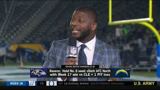 Ravens defeat Chargers 22-10 & hold NO.6 seed