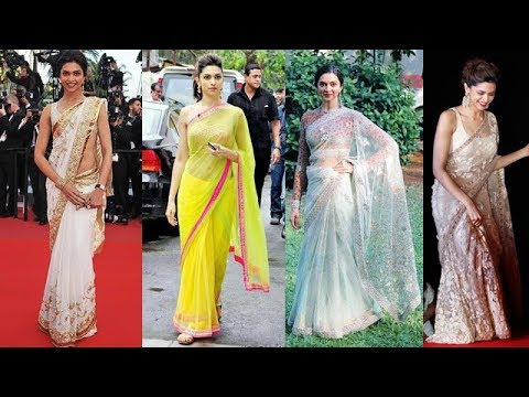 Deepika Padukone's Best Public Appearances In Saree thumbnail