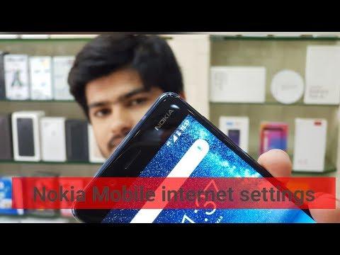 Nokia android Mobile internet settings   Nokia mobile  sim internet not work