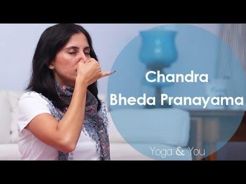 How to do Chandra Bheda Pranayama | Ventuno Yoga and You