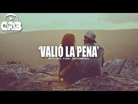 Valió La Pena - Beat Instrumental Rap Romantico Piano Pista Base 2019