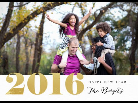 Our Family's 2015 Year in Review