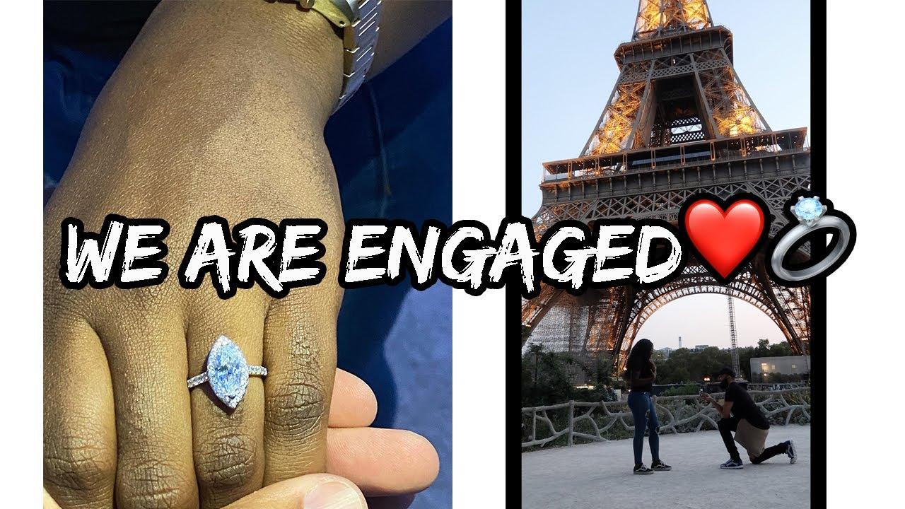 HE PROPOSED 💍 !! | PARIS VLOG during a PANDEMIC