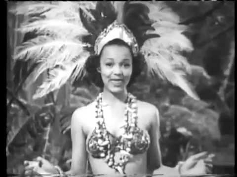 """Dorothy DANDRIDGE """"A Jig In The Jungle"""" (1941) !!!"""