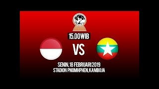 Download Video Live Streaming Timnas Indonesia U-22 VS Myanmar U-22 Piala AFF U-22 2019 MP3 3GP MP4