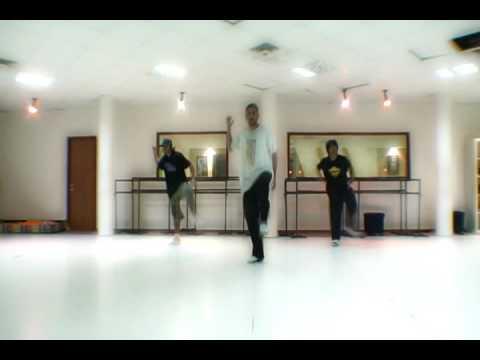 Off the wall locking choreography