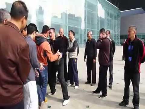 Master Guo ZhengXun (Kuo Cheng-Hsun) Pushing-hands Meetup in Shenzhen, China, 2015 郭正勳