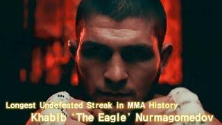Undefeated UFC Champ Khabib 'The Eagle' Nurmagomedov Highlights HD 2018