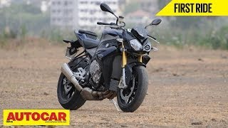 BMW S1000R | First Ride Video Review | Autocar India