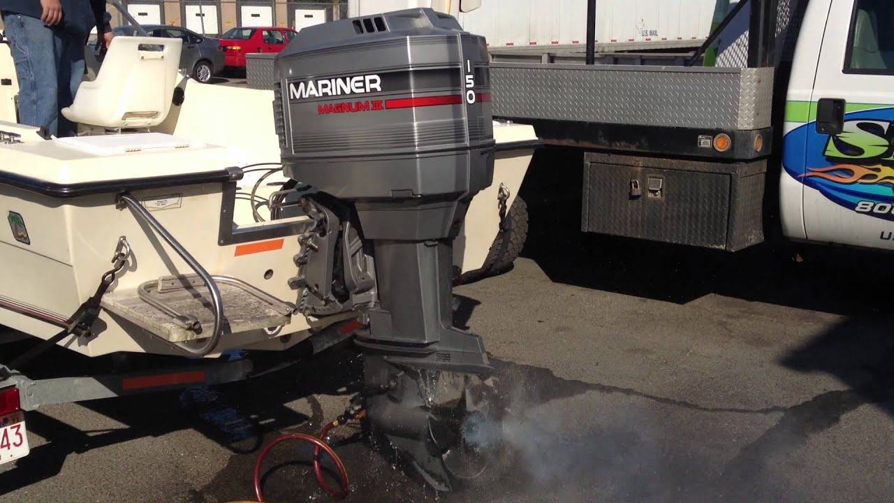 mariner  magnum  great motor   hours  sale