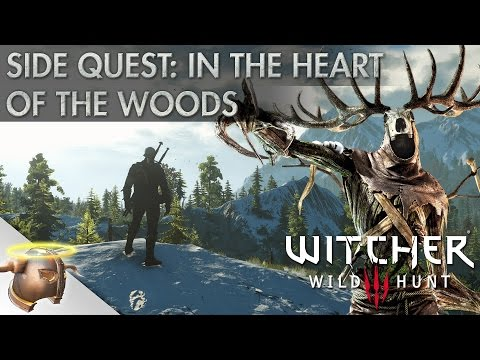 """The Witcher 3 Wild Hunt: Side Quest """"In The Heart of the Woods"""" Let's Play"""