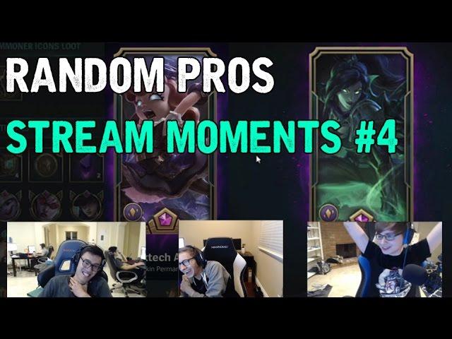 Random Pros Stream Moments # 4 : Funny League of Legends