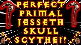 PERFECT PRIMAL JESSETH SKULL SCYTHE CRAFT