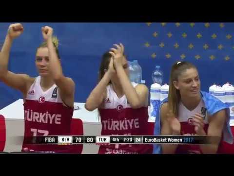 Belarus - Türkiye - FIBA EuroBasket Women 2017 (Maç özeti)