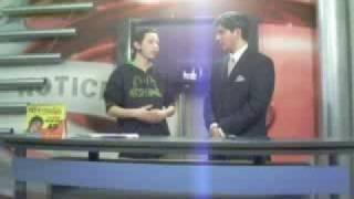 Tenor Ignacio Gomez y Lester Mofre,Camarografo de Polar TV