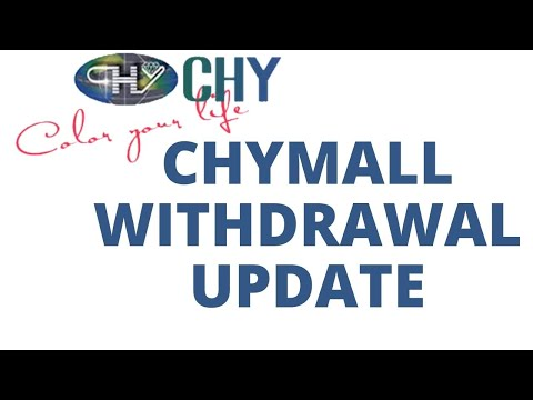 Chymall Withdrawal Update, Bitcoin And Way Forward