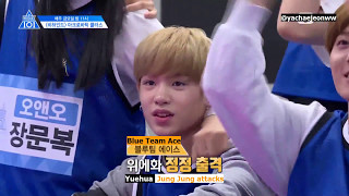 [ENG SUB] PRODUCE101 Season 2 Special   Acrobatic Lessons 170505 EP.5