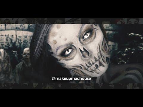 Chromaview White Zombie Halloween Contact Lenses