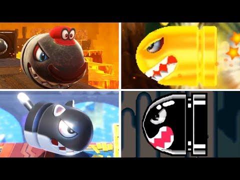 Evolution of - Banzai Bill in Super Mario Games Mp3