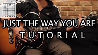 "Como tocar ""Just The Way You Are"" de Bruno Mars - Tutorial Guitarra (Acordes) HD"