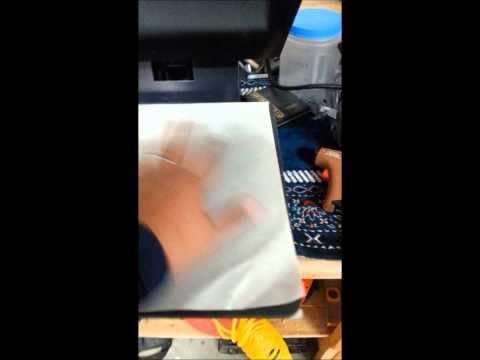 Second Kydex Heat Press Test